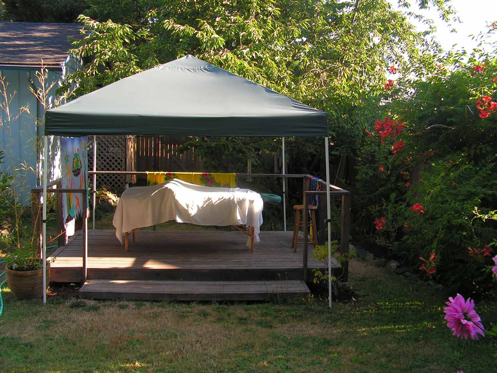 South Eugene Outdoor Massage